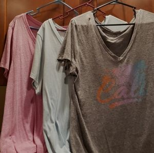 Lot of 3 t-shirts